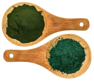 best foods for an alkaline diet - Chlorella and Spirulina powder