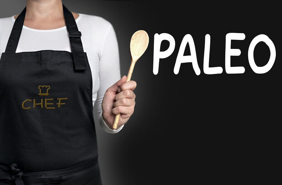 paleo recipes - paleo cook holding wooden spoon