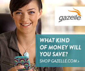 Shop Gazelle.com - What kind of money will you save?