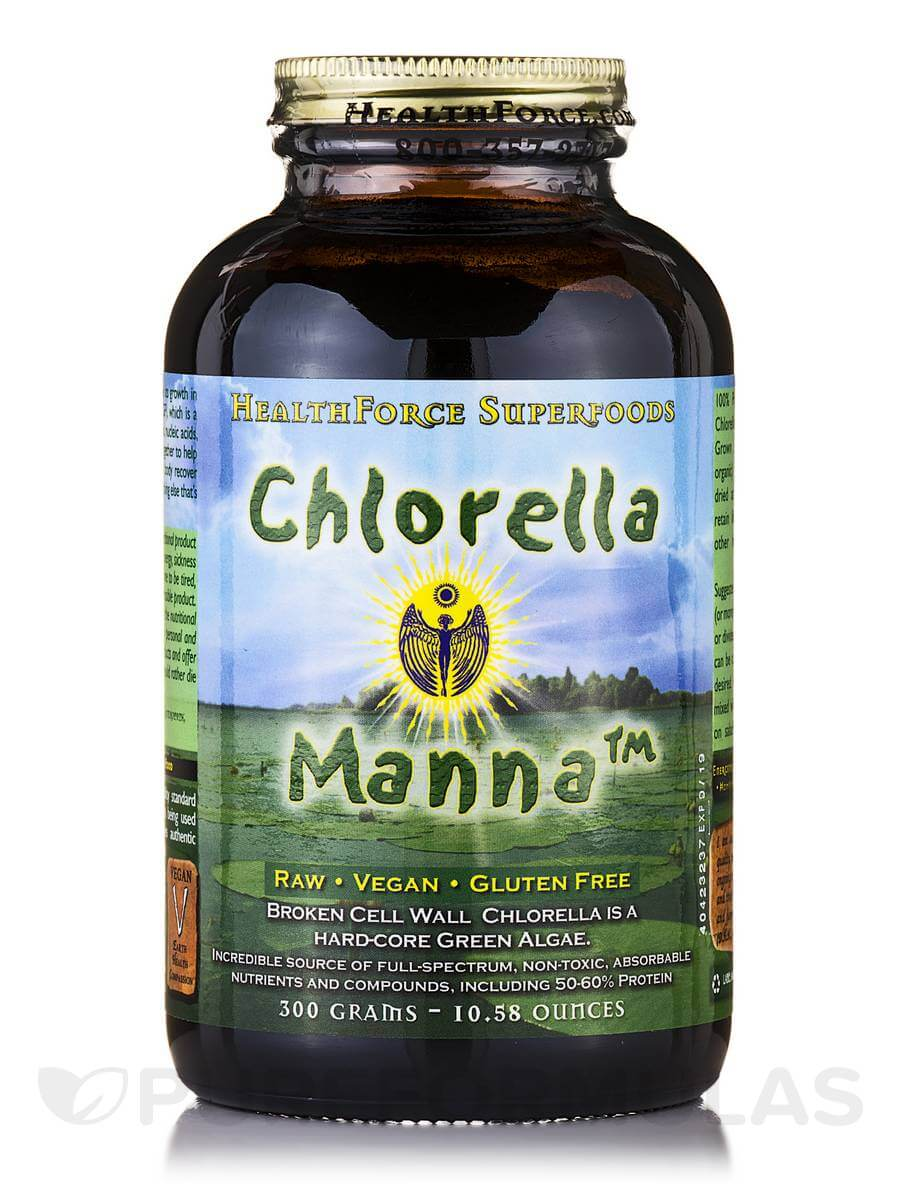 Chlorella Manna Powder by Healthforce Superfoods