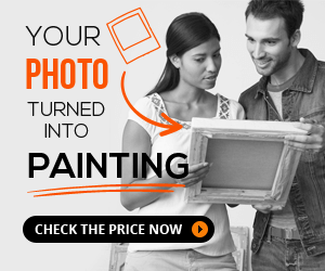 Your photo turned into painting, check the price now