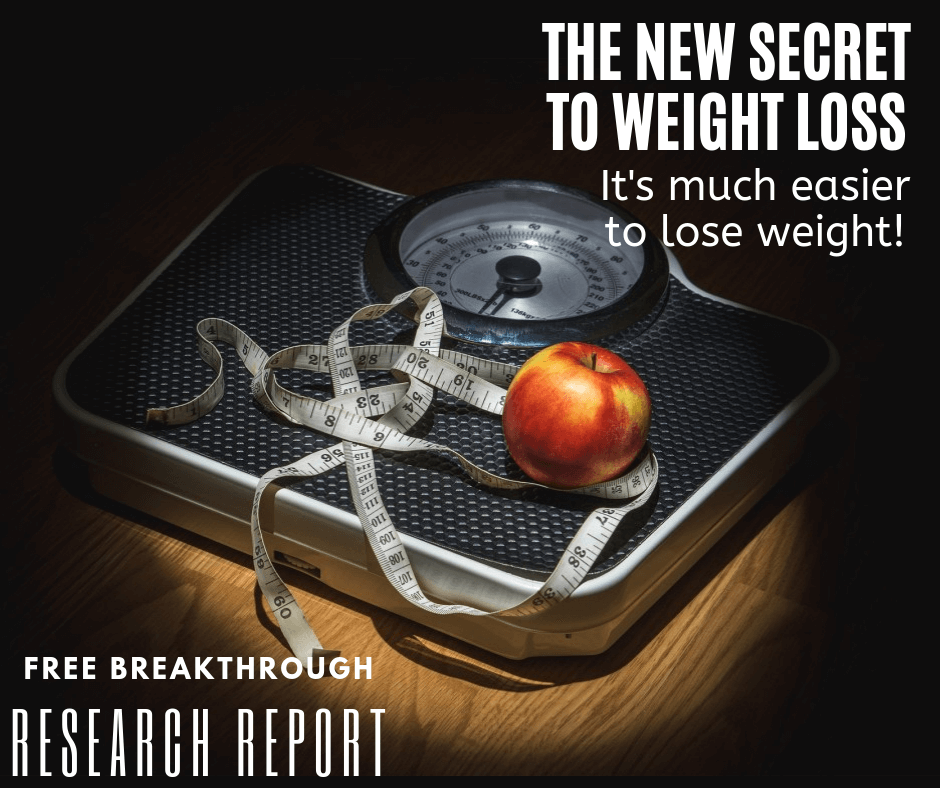 The new secret to weight loss, free breakthrough research report