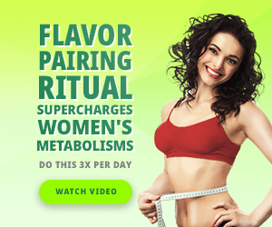 Flavor Pairing Ritual Supercharges Women's Metabolisms, Watch Video