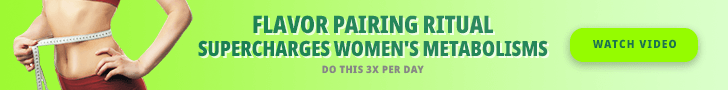 Flavor Pairing Ritual Supercharges Women's Metabolisms, Do This 3X Per Day, Watch Video