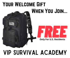Your Welcome Gift When You Join VIP Survival Academy. Free (US Residents Only)