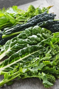 Green leafy fresh vegetables - best foods for acid reflux