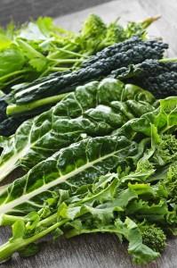 Green leafy fresh vegetables - best foods for acid reflux